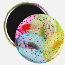 Rainbow Donuts Magnet