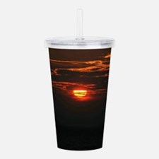 Wonderful Sunset Acrylic Double-wall Tumbler