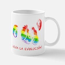 viva la evolucion kissing chimpanzees by asyrum Mu