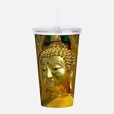 Golden Buddha Acrylic Double-wall Tumbler
