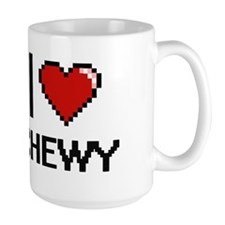 I love Chewy Digitial Design Mugs
