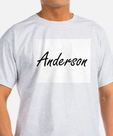 Anderson surname artistic design T-Shirt