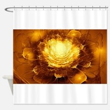 Golden Art Shower Curtain