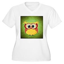 Owl Plus Size T-Shirt