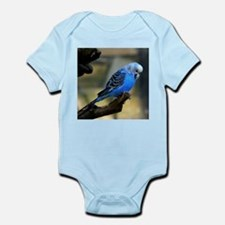 Blue Budgie Body Suit