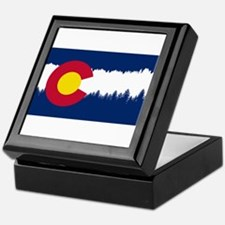 Funny Colorado flag Keepsake Box