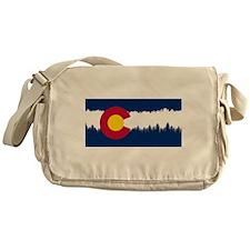 Cute Mountains Messenger Bag