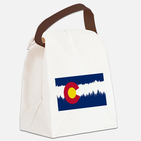Funny Breck Canvas Lunch Bag