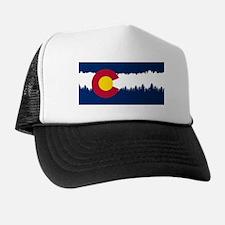 Unique Colorado flag Trucker Hat