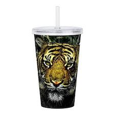 Tiger Acrylic Double-wall Tumbler