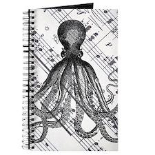 vintage nautical steampunk octopus Journal