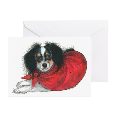 Phalene Papillon Greeting Cards (Pk of 10)