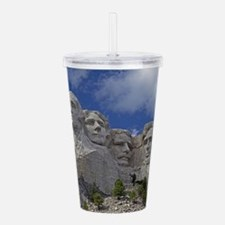 Mount Rushmore Acrylic Double-wall Tumbler