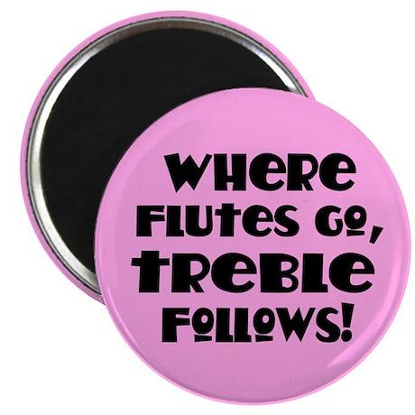Flute Treble Magnet