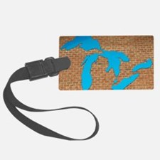 Great Lakes Luggage Tag
