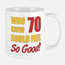 Fun 70th Birthday Mug