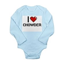 I love Chowder Digitial Design Body Suit