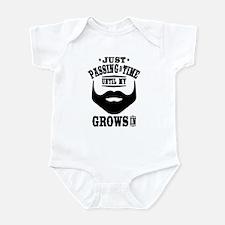 Funny Beard Infant Bodysuit