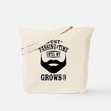 Funny Beard Tote Bag