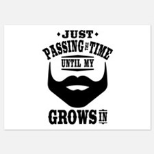Funny Beard Invitations