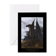Death Awaits You Greeting Card
