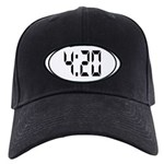 4:20 Digital Black Cap
