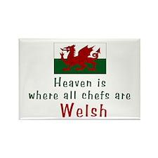 Welsh Chefs Rectangle Magnet