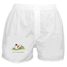 Love Me, Love My Piebald Dox Boxer Shorts