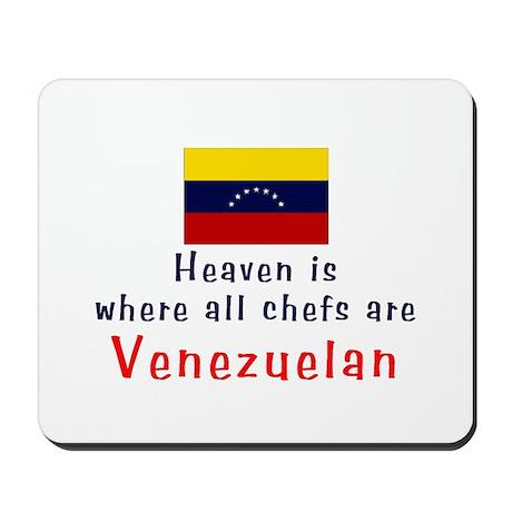 Venezuelan Chefs Mousepad