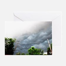 There's a storm brewing Greeting Card
