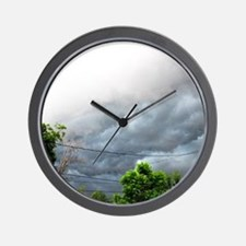 There's a storm brewing Wall Clock