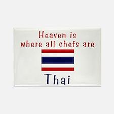 Thai Chefs Rectangle Magnet
