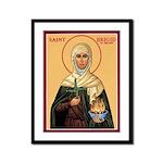 St. Brigid of Ireland Framed Print