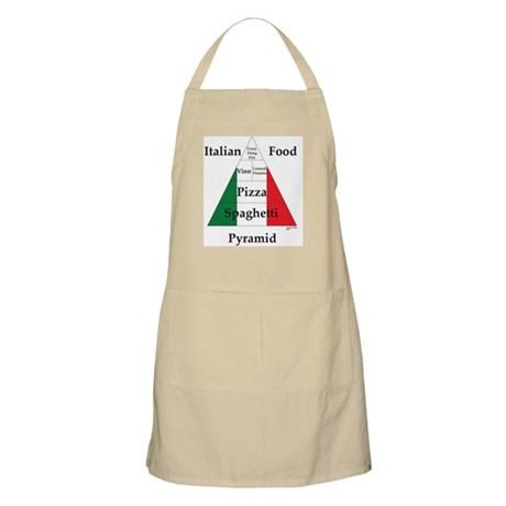 Italian Food Pyramid BBQ Apron