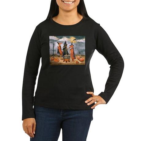 All Howls Eve Women's Long Sleeve Dark T-Shirt
