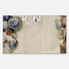 summer ocean beach seashell Decal