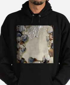 summer ocean beach seashells Hoodie (dark)