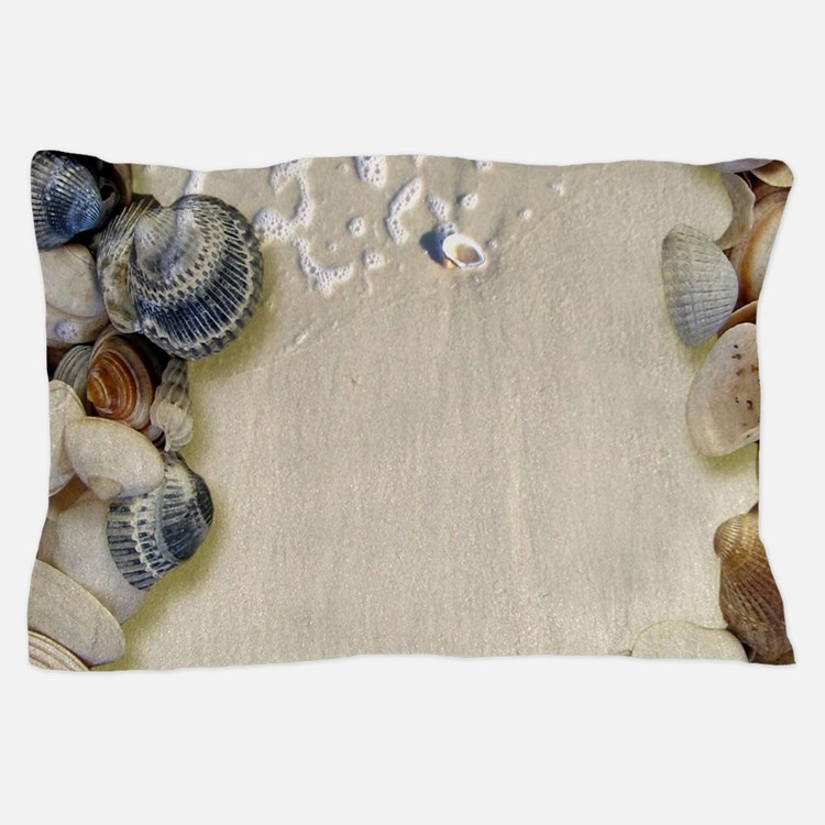 summer ocean beach seashells Pillow Case