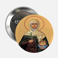 "St. Brigid of Ireland 2.25"" Buttons (10 pack)"