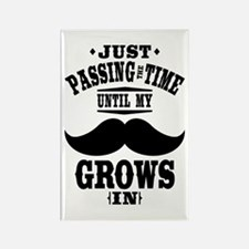 Mustache Rectangle Magnet (10 pack)
