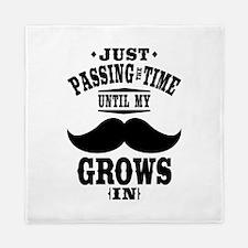 Mustache Queen Duvet