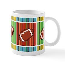 Football Pattern Mugs