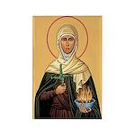 St. Brigid of Ireland Rectangle Magnets (10 pack)