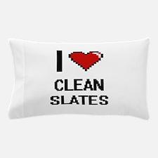 I love Clean Slates Digitial Design Pillow Case