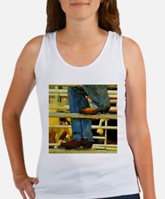 western country rodeo cowboy Tank Top