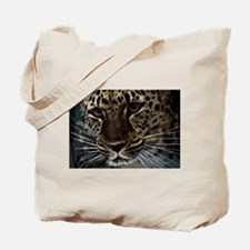 Spotted Cat of Mystery Silk Screen Tote Bag