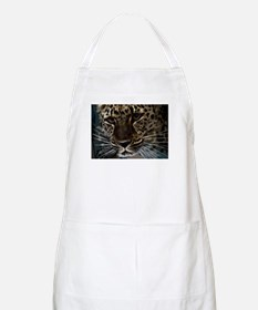 Spotted Cat of Mystery Silk Screen Apron