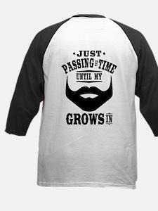 Funny Beard Kids Baseball Jersey