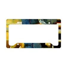 western country rodeo cowboy License Plate Holder