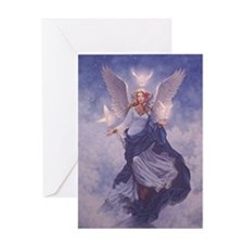 Unique Angel Greeting Card
